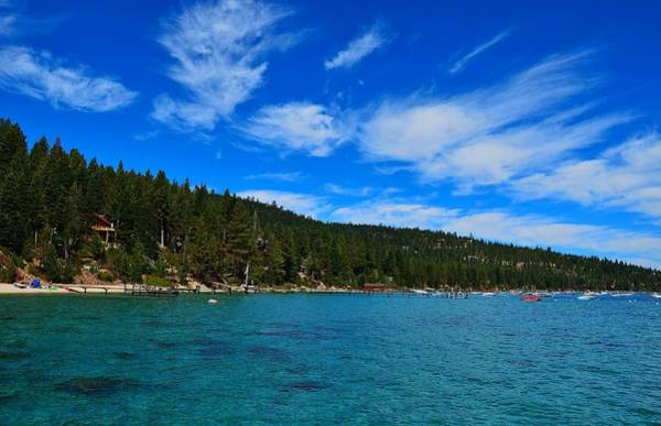 Photograph - Lake Tahoe Rubicon Bay Beauty by Marilyn MacCrakin
