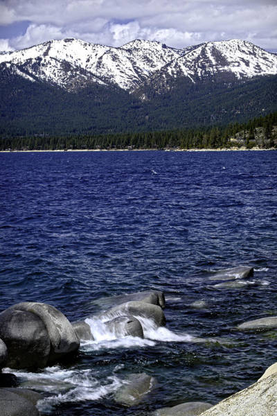 Photograph - Lake Tahoe Sand Harbor Winter by William Havle