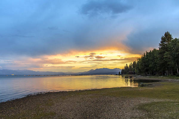 Photograph - Lake Tahoe Sky by Lee Harland