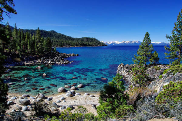 Granite Rock Photograph - Lake Tahoe Springscape by Scott McGuire