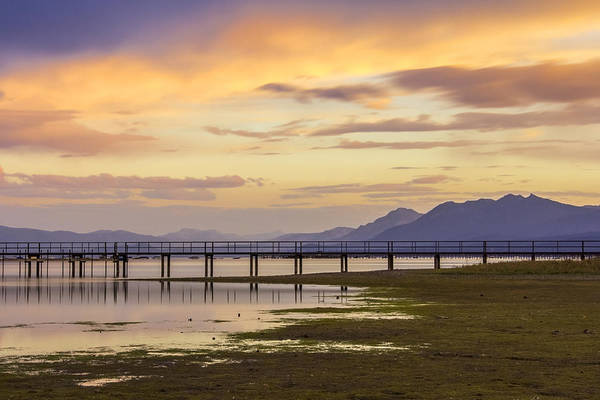 Photograph - Lake Tahoe Sunset by Lee Harland