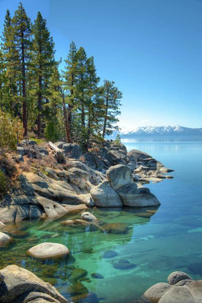 Lake Tahoe Photograph - Lake Tahoe, The Rugged North Shore by Ed Freeman