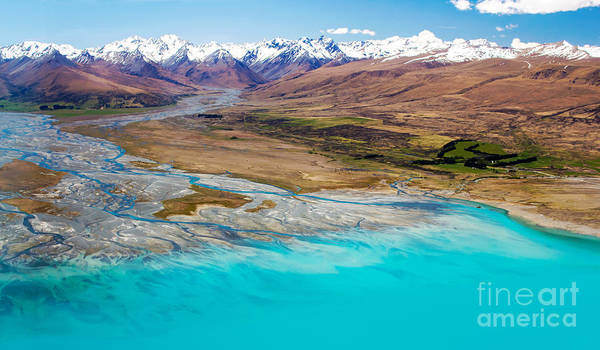 Photograph - Lake Tekapo by Nicholas Blackwell