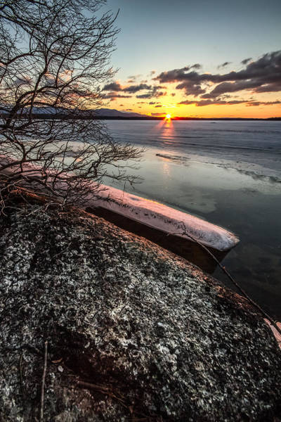 Photograph - Lake Thaw by Robert Clifford