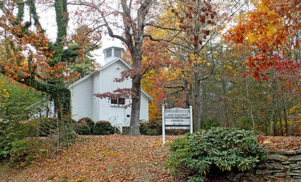 Photograph - Lake Toxaway United Methodist Church by Duane McCullough