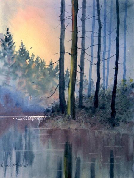 Painting - Lake Tranquility by Glenn Marshall