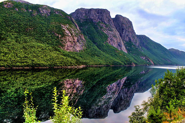 Lake Tysdalsvatnet Norway Art Print