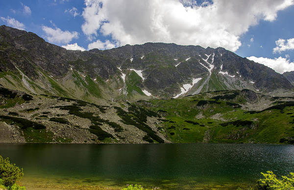 High Tatras Wall Art - Photograph - Lake Under The Mountains by Pati Photography