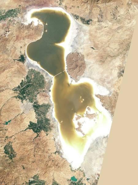 Controversial Photograph - Lake Urmia by Nasa Earth Observatory