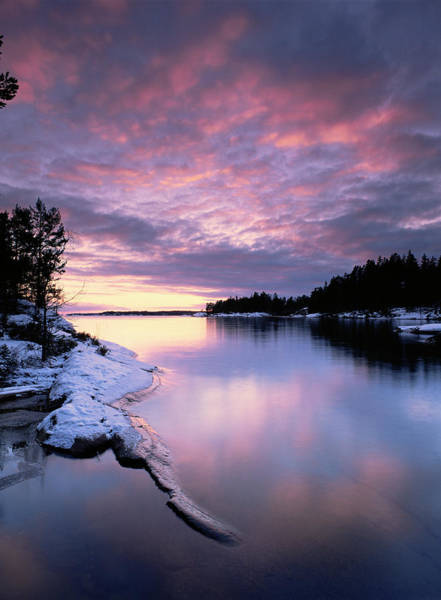 Rising Water Photograph - Lake Vattern by Bjorn Svensson/science Photo Library