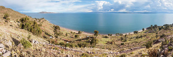 Puno Photograph - Lake Viewed From An Island, Lake by Panoramic Images