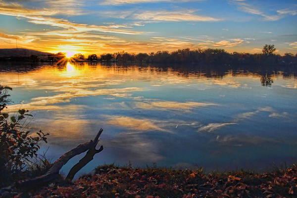 Photograph - Memorial Park Sunset by Dale Kauzlaric