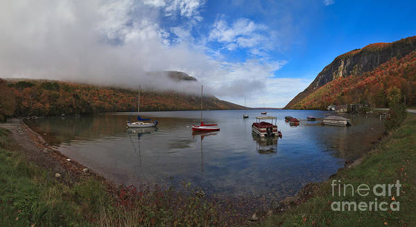 Photograph - Lake Willoughby Panorama by Charles Kozierok