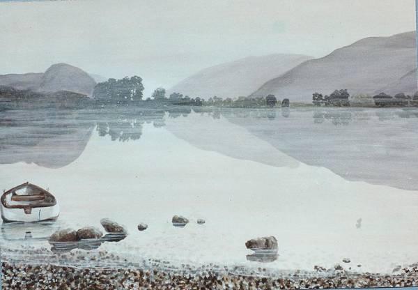 Windermere Painting - Lake Windermere Cumbria England by Mackenzie Moulton