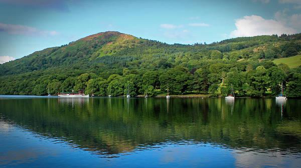 Lake District Wall Art - Photograph - Lake Windermere Cumbria by Martin Newman