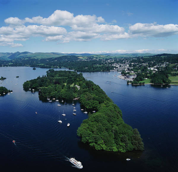 Belle Isle Photograph - Lake Windermere by Skyscan/science Photo Library