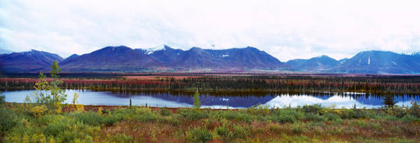 Wall Art - Photograph - Lake With A Mountain Range by Panoramic Images