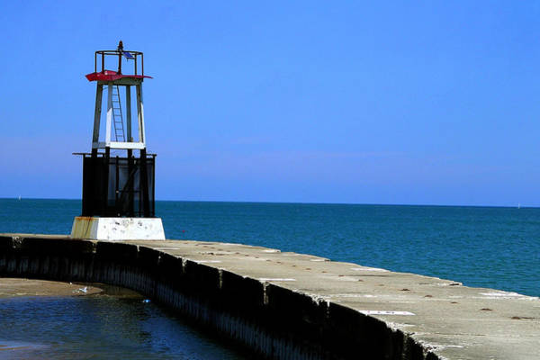 Photograph - Lakefront Pier Tower by Patrick Malon
