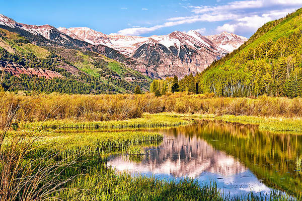Photograph - Lakeside In Telluride by Rick Wicker