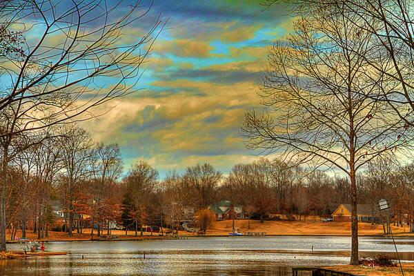 Photograph - Lakeside Winter by Barry Jones