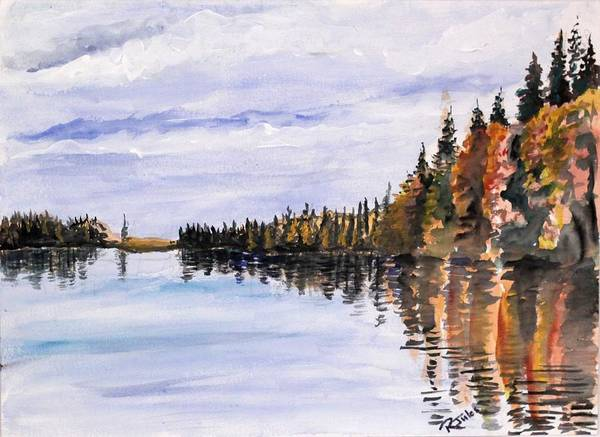Painting - Lakeview by Richard Jules