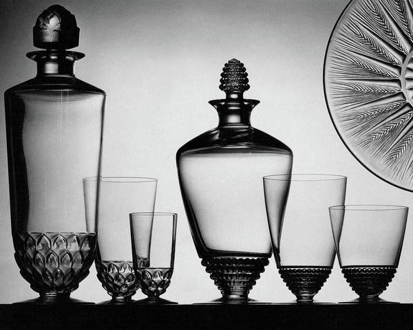Wall Art - Photograph - Lalique Glassware by The 3
