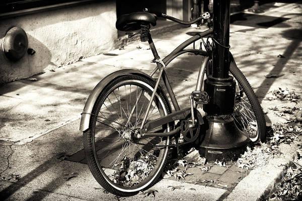 Photograph - Lambertville Bike by John Rizzuto