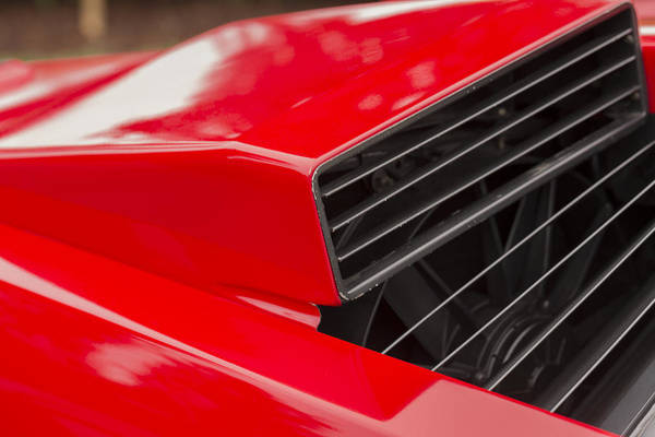 Photograph - Lamborghini Countach Intake by Scott Campbell