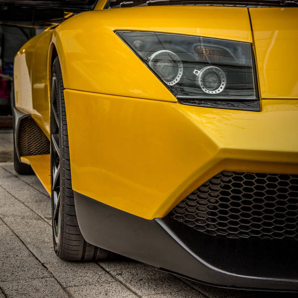Photograph - Lamborghini - Front View by James Woody