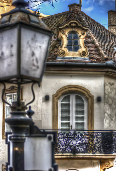 Historic House Digital Art - Lamp by Nathan Wright