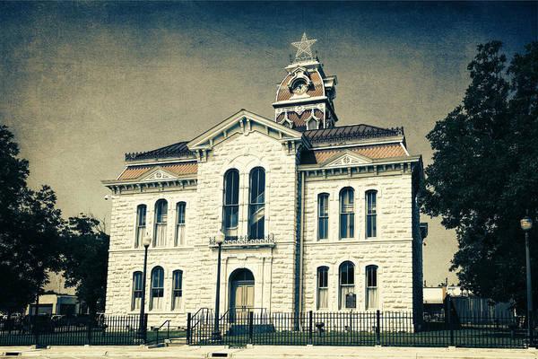 Photograph - Lampasas County Courthouse IIi by Joan Carroll