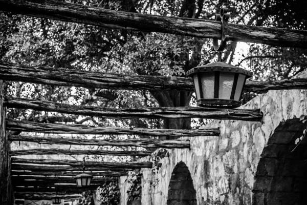 Photograph - Lamps At The Alamo 2 by Melinda Ledsome