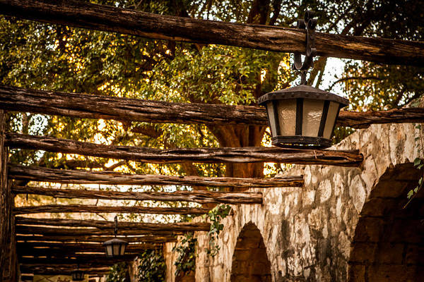 Photograph - Lamps At The Alamo by Melinda Ledsome