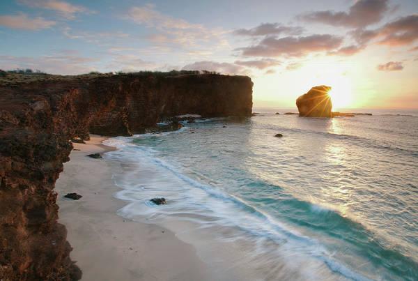 Maui Photograph - Lanai Sunset Resort Beach by M Swiet Productions