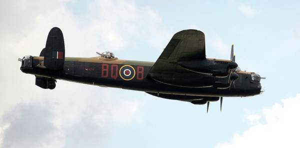 Lancaster Photograph - Lancaster Bomber by /us Air Force