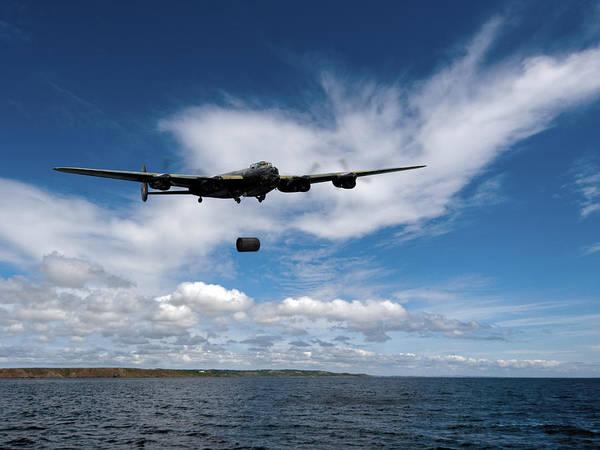 Photograph - Lancaster Releasing Upkeep by Gary Eason