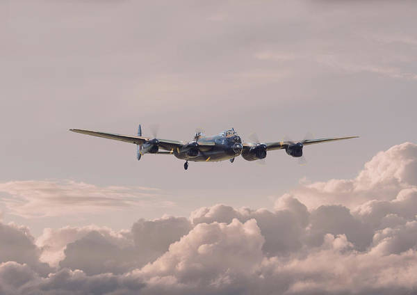 Bomber Photograph - Lancaster - Summer Dawn by Pat Speirs