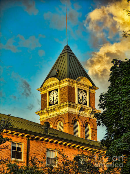 Photograph - Lancaster Town Hall by Jim Lepard