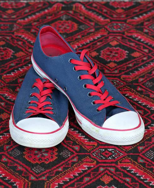 Photograph - Lance's Shoes by E Faithe Lester