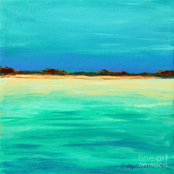 Painting - Iguana Island Ahead by Robyn Saunders
