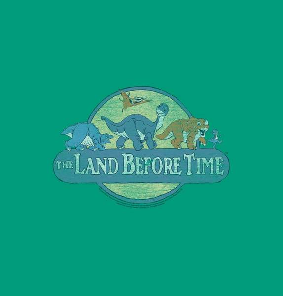 Valleys Digital Art - Land Before Time - Retro Logo by Brand A