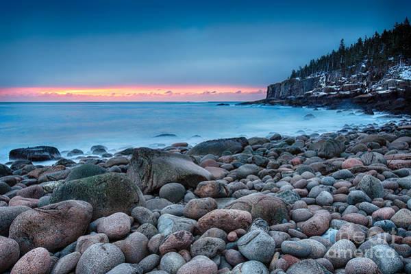 Atlantic Photograph - Land Of Sunrise by Evelina Kremsdorf