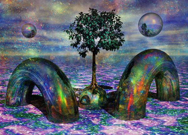 Wall Art - Digital Art - Land Of World 8624028 by Betsy Knapp