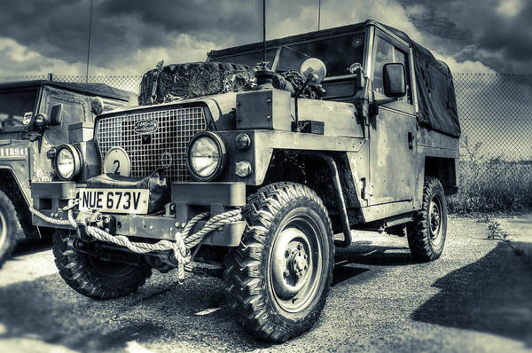 Jeep Wall Art - Photograph - Land Rover - Defender by Ian Hufton