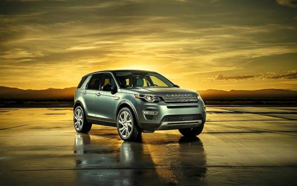Photograph - Land Rover Discovery Sport by Movie Poster Prints