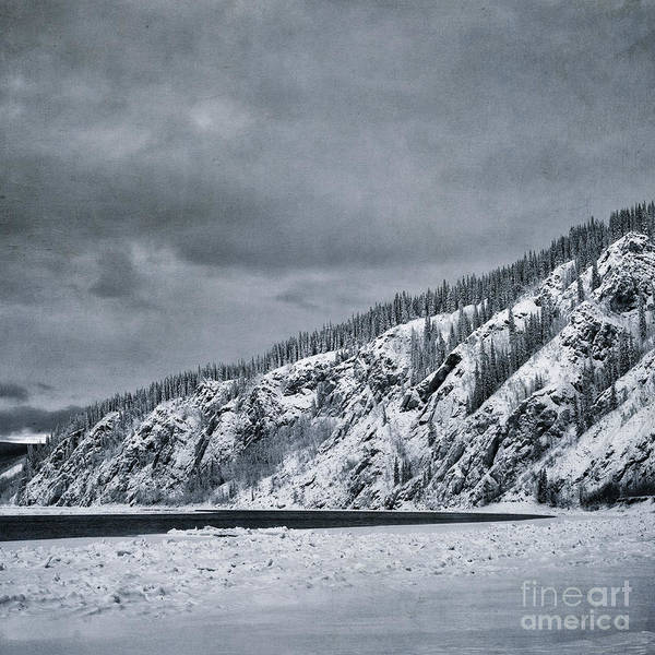 Icy Photograph - Land Shapes 13 by Priska Wettstein