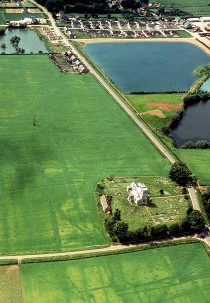 Wall Art - Photograph - Land Use In Cambridgeshire by Cambridge University Collection Of Air Photographs/science Photo Library.