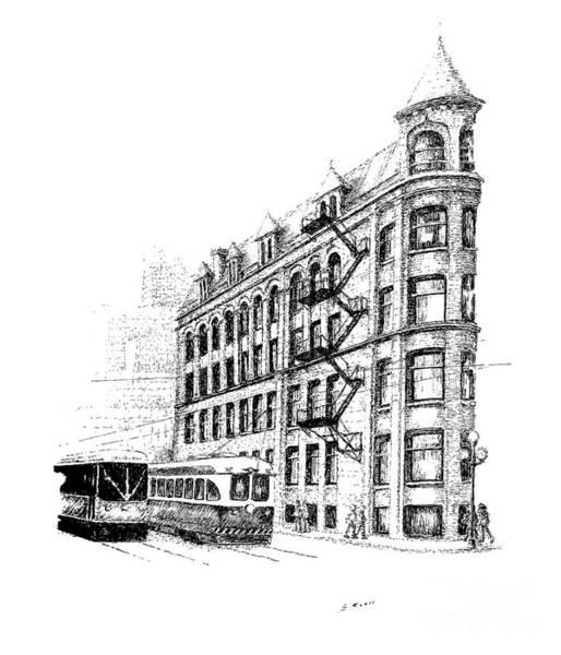 Toronto Drawing - Landmark And Icons by Steve Knapp