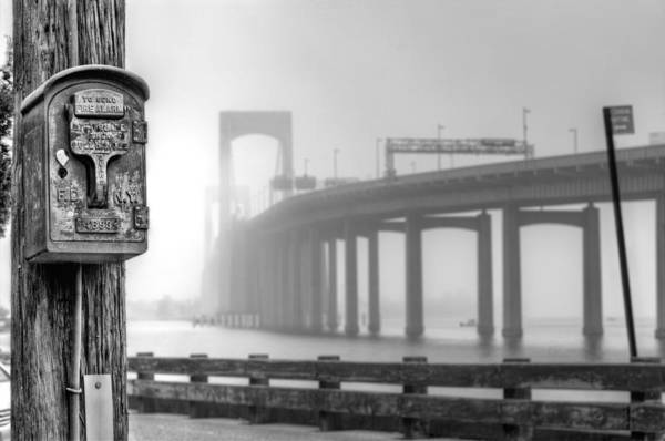 Fdny Photograph - Landmarks Bw by JC Findley