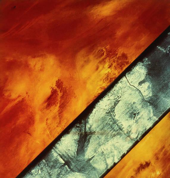 Sahara Photograph - Landsat Image Of Sahara Desert by Nasa/science Photo Library.